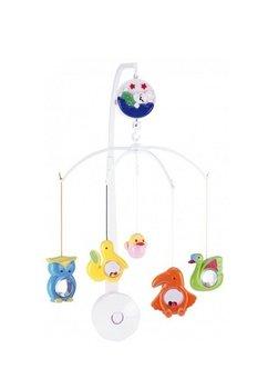 Carusel muzical, plastic, animale colorate