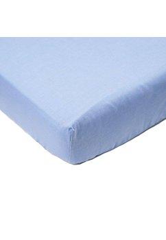 Cearceaf bumbac, albastru, 140 x 70 cm