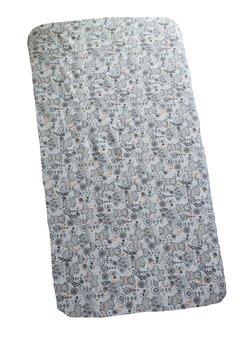 Cearceaf bumbac, hipopotam gri, 120x60cm