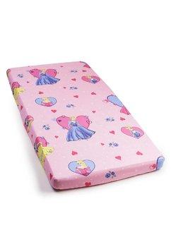 Cearceaf bumbac Printese, roz,120 X 60 cm