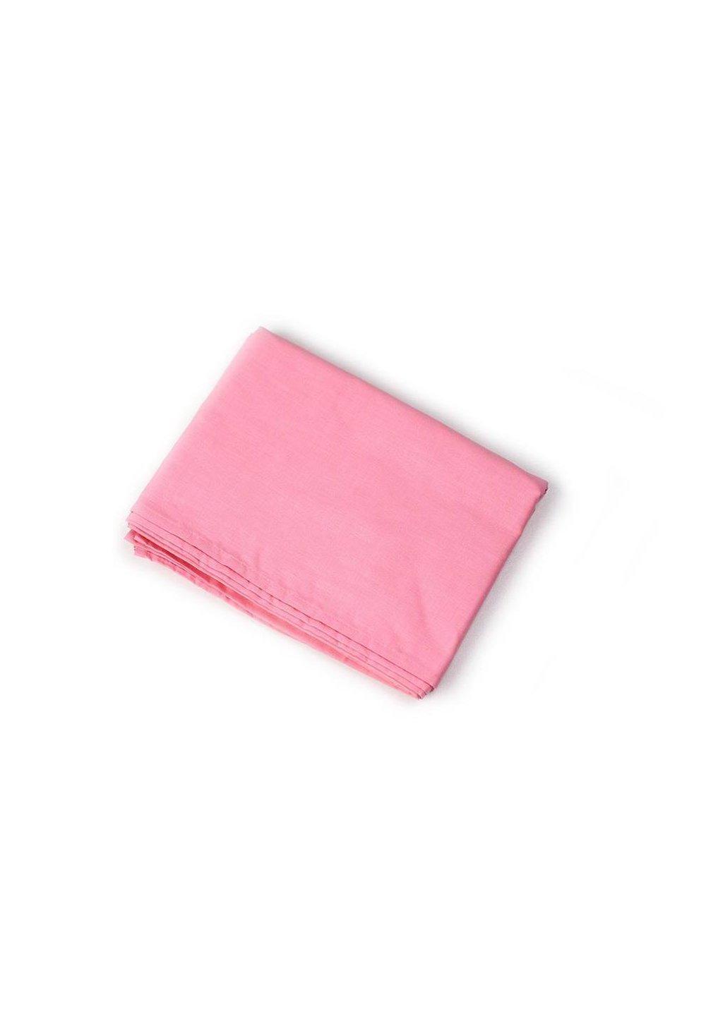 Cearceaf bumbac, roz, 160 x 210 cm imagine