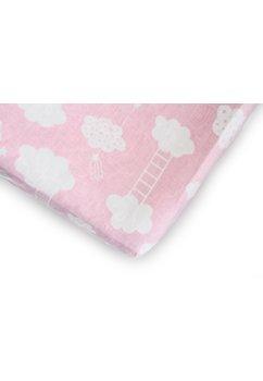 Cearceaf patut, norisori roz, 120x60cm