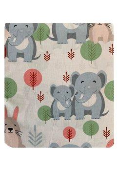 Cearceaf patut, Vulpita si elefantelul, 120x60 cm