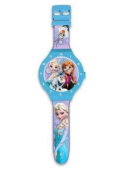 Ceas de perete, Frozen, albastru