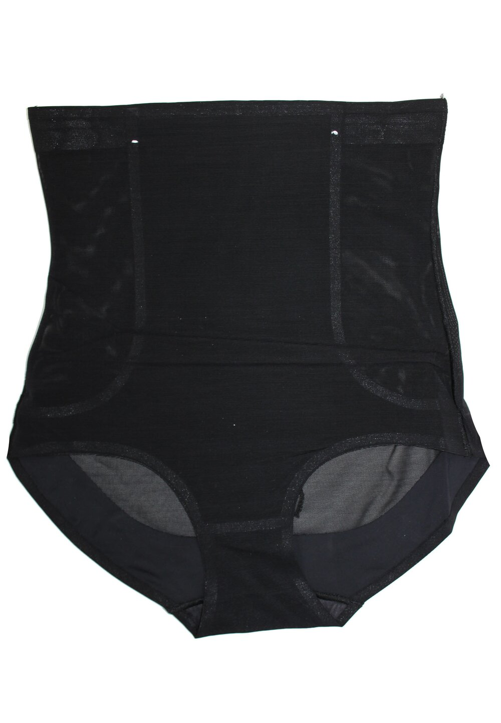 Chilot modelator cu talie inalta, Rose, negru imagine