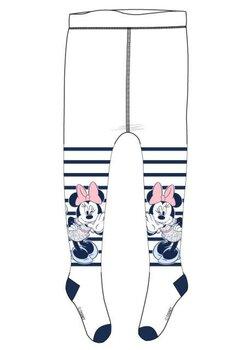 Ciorapi cu chilot bebe, Minnie Mouse, albi