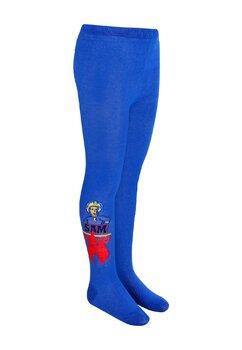 Ciorapi cu chilot, 70% bumbac, Pompierul Sam, albastru