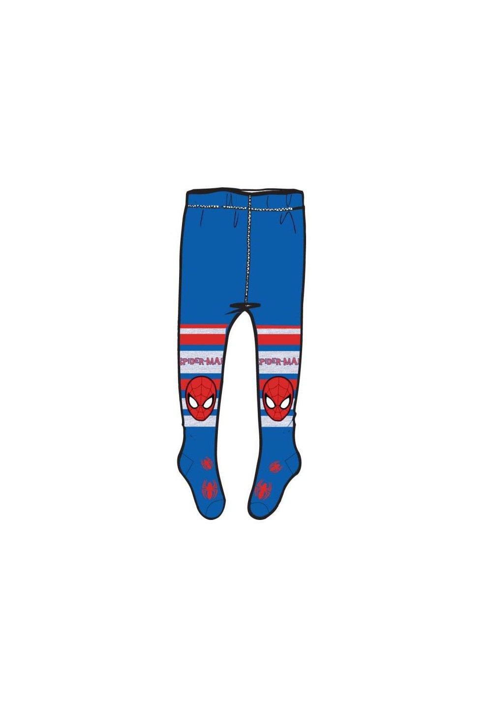 Ciorapi cu chilot, albastri cu dungi, Spider-Man imagine