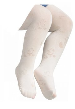 Ciorapi cu chilot, albi