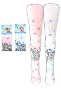 Ciorapi cu chilot, albi cu inimioare, Frozen