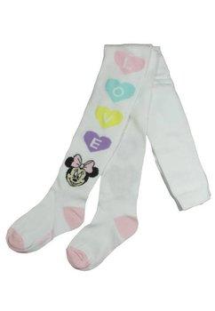 Ciorapi cu chilot, albi, Love, Minnie