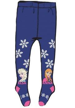 Ciorapi cu chilot, Anna si Elsa, mov cu fulgi