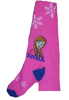 Ciorapi cu chilot, Anna si Elsa, roz cu fulgi