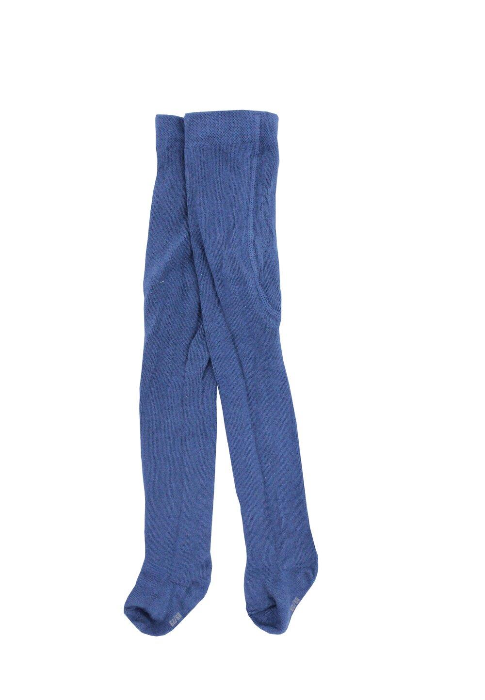 Ciorapi cu chilot, bebe, 83% bumbac, albastru