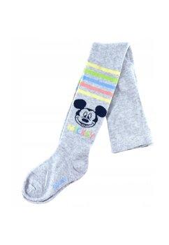 Ciorapi cu chilot bebe, Mickey, gri cu dungi