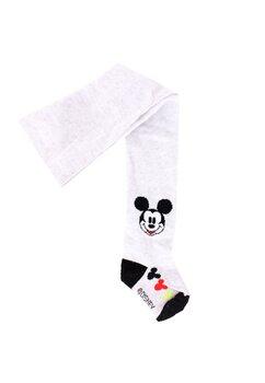 Ciorapi cu chilot, bebe, Mickey gri cu figurine
