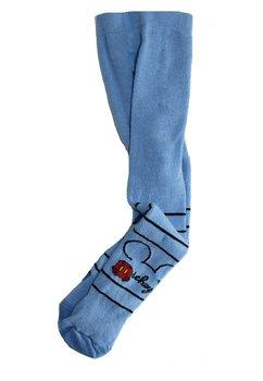 Ciorapi cu chilot bebe, Mickey Mouse, albastri