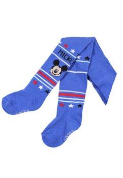 Ciorapi cu chilot, bebe Mickey Mouse, albastru cu dungi