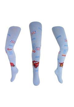 Ciorapi Cu Chilot Cars Albastru Deschis
