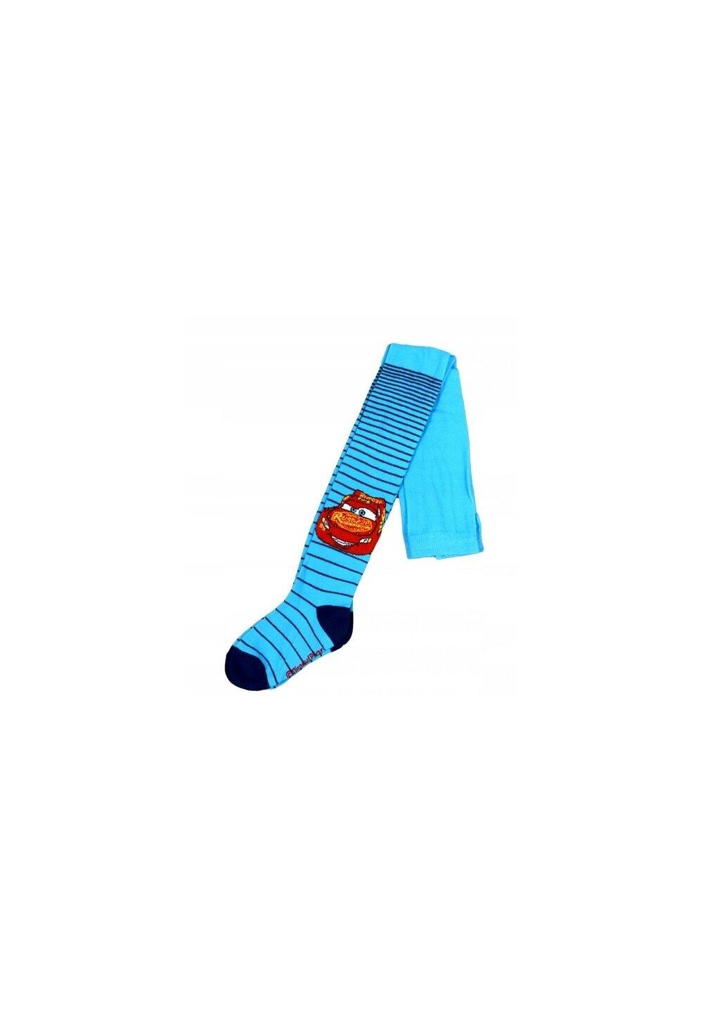 Ciorapi cu chilot, Cars Rusteze, albastri cu dungi imagine