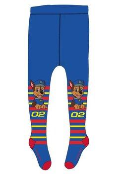 Ciorapi cu chilot, Chase 02, albastri cu dungi colorate