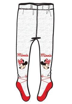 Ciorapi cu chilot, gri cu rosu, Minnie Mouse
