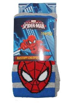 Ciorapi cu chilot, gri cu dungi, Spider-Man