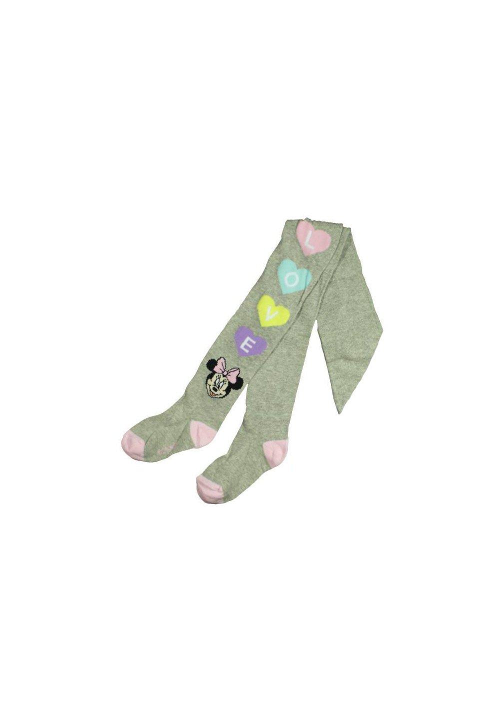 Ciorapi cu chilot, gri, Love, Minnie imagine
