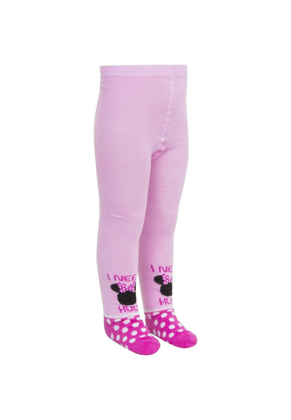 Ciorapi cu chilot, I need a hug, roz cu buline imagine