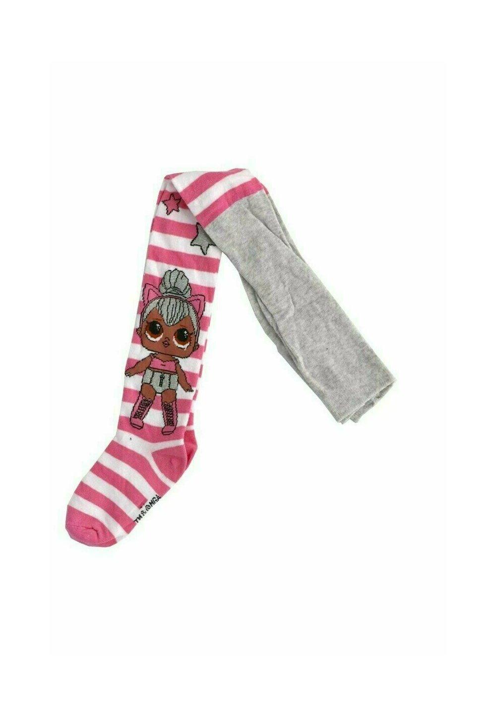 Ciorapi cu chilot, LOL Surprise, alb cu roz imagine