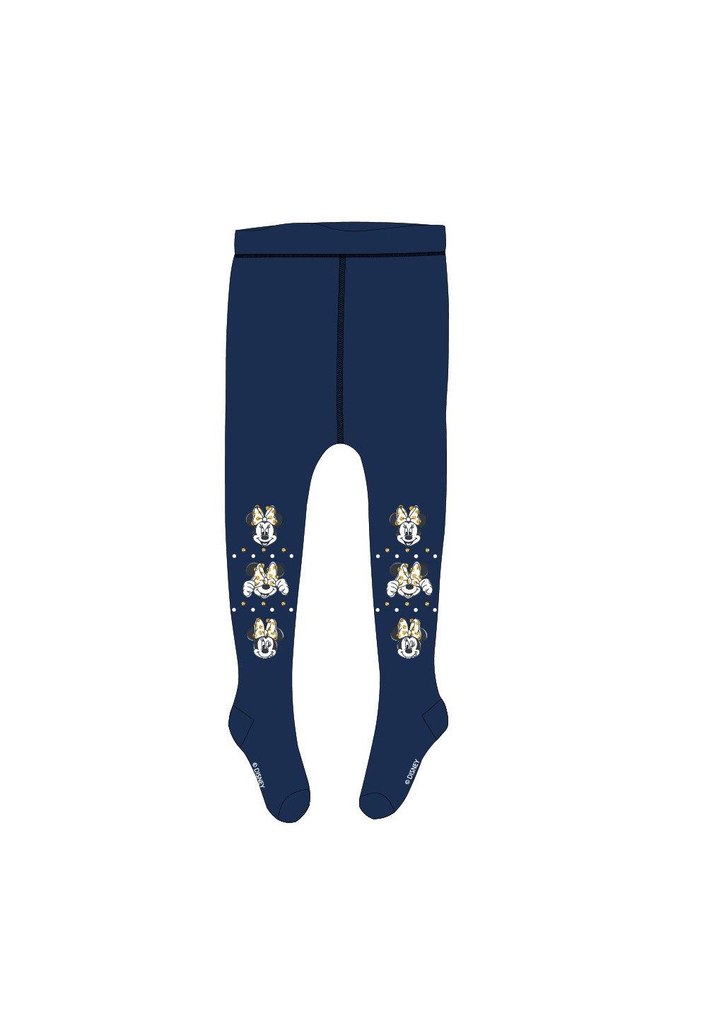 Ciorapi cu chilot, Minnie, bluemarin cu auriu imagine