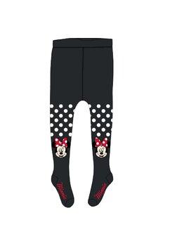 Ciorapi cu chilot, Minnie, negru cu buline albe