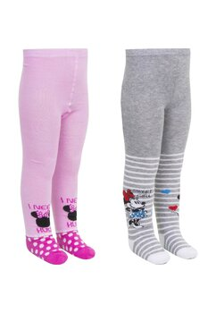 Ciorapi cu chilot, Minnie, Sweet girl, gri
