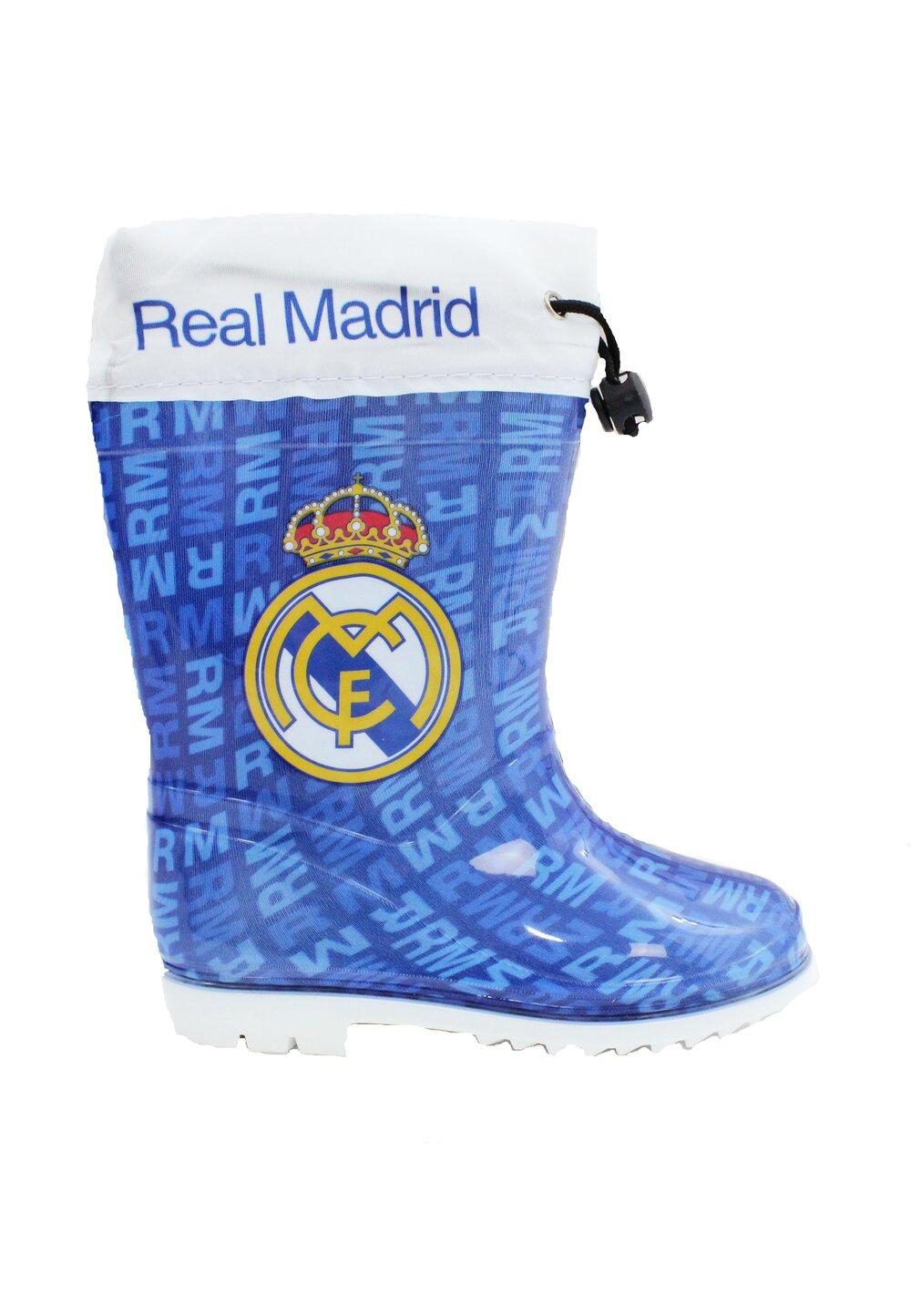 Cizme cauciuc din PVC, Real Madrid, albastre