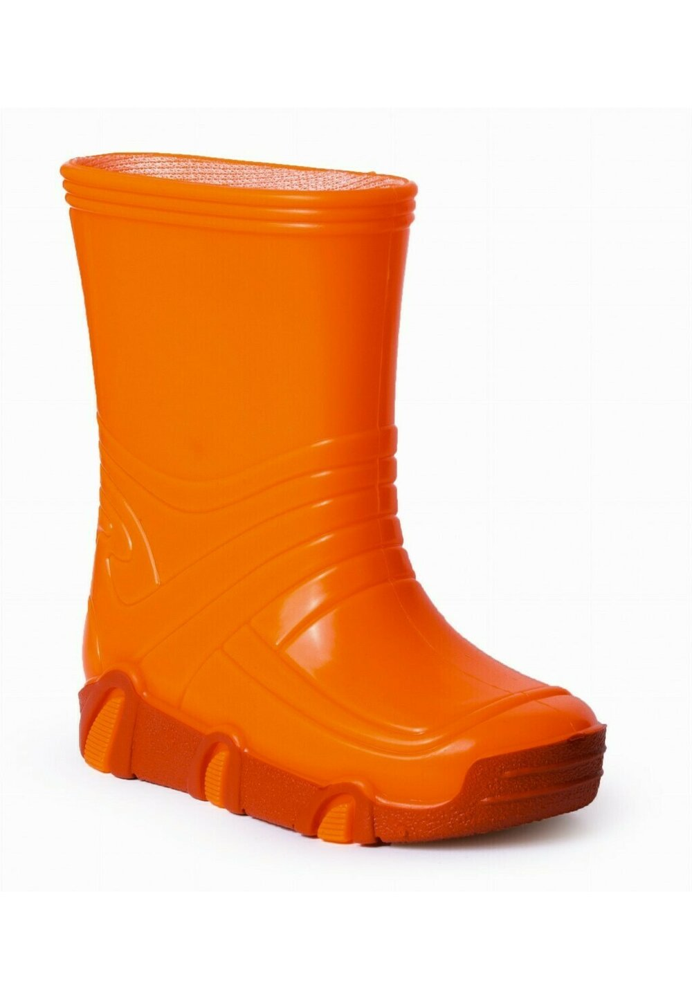 Cizme de cauciuc, portocaliu neon imagine