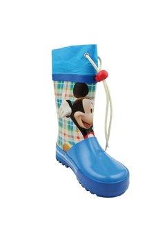 Cizme de cauciuc, albastre, Mickey Mouse