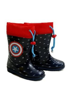 Cizme de cauciuc, Captain America, bluemarin cu rosu
