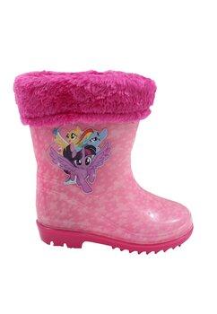 Cizme de cauciuc cu ciorap, Pony, roz