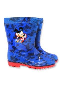 Cizme de cauciuc, M is for Mickey, albastru cu rosu