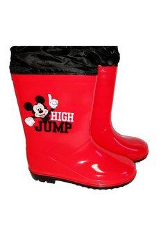 Cizme de cauciuc, Mickey High Jump, rosii
