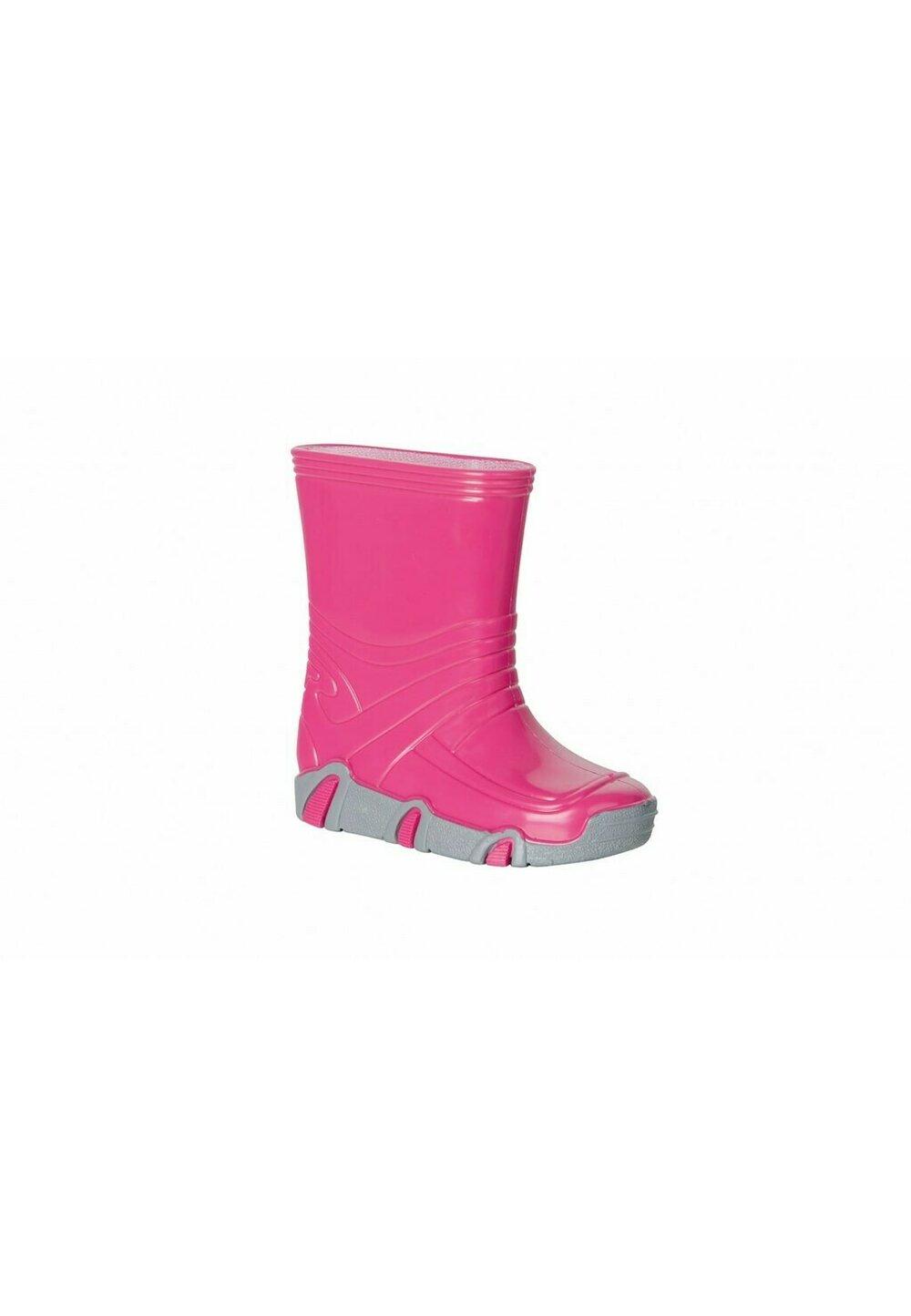 Cizme de cauciuc, roz neon imagine