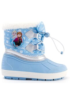 Cizme de zapada, imblanite, Frozen, albastre