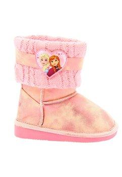 Cizme fete, Frozen, roz cu inimioara