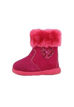 Cizme fete, roz cu inimioare