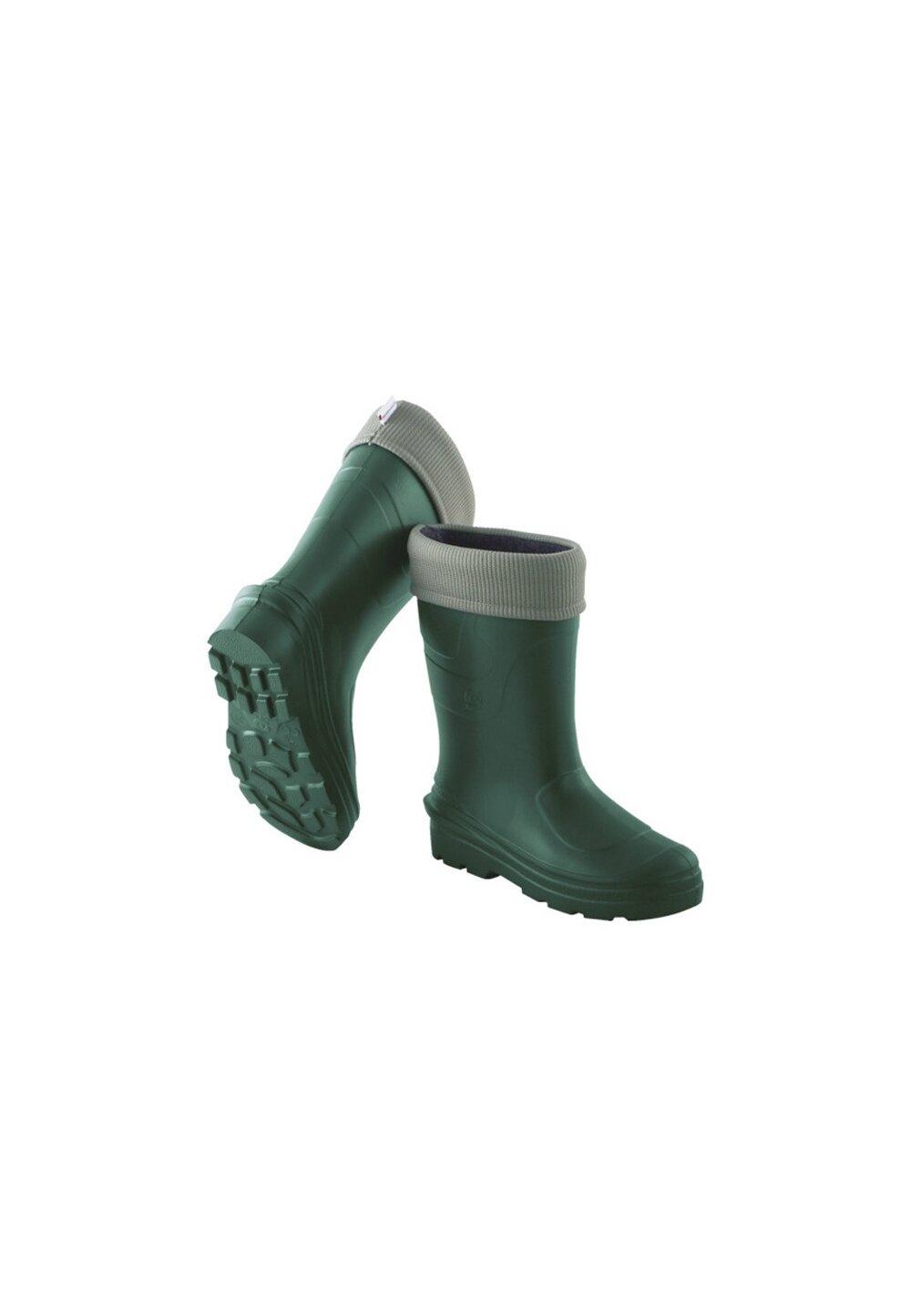 Cizme termoizolante din spuma cu ciorap, Montana, verzi