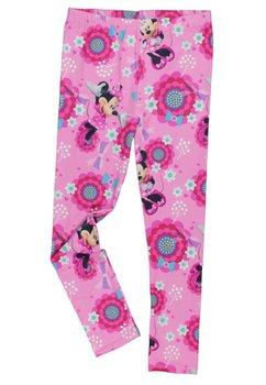 Colanti cu floricele, Minnie Mouse, roz