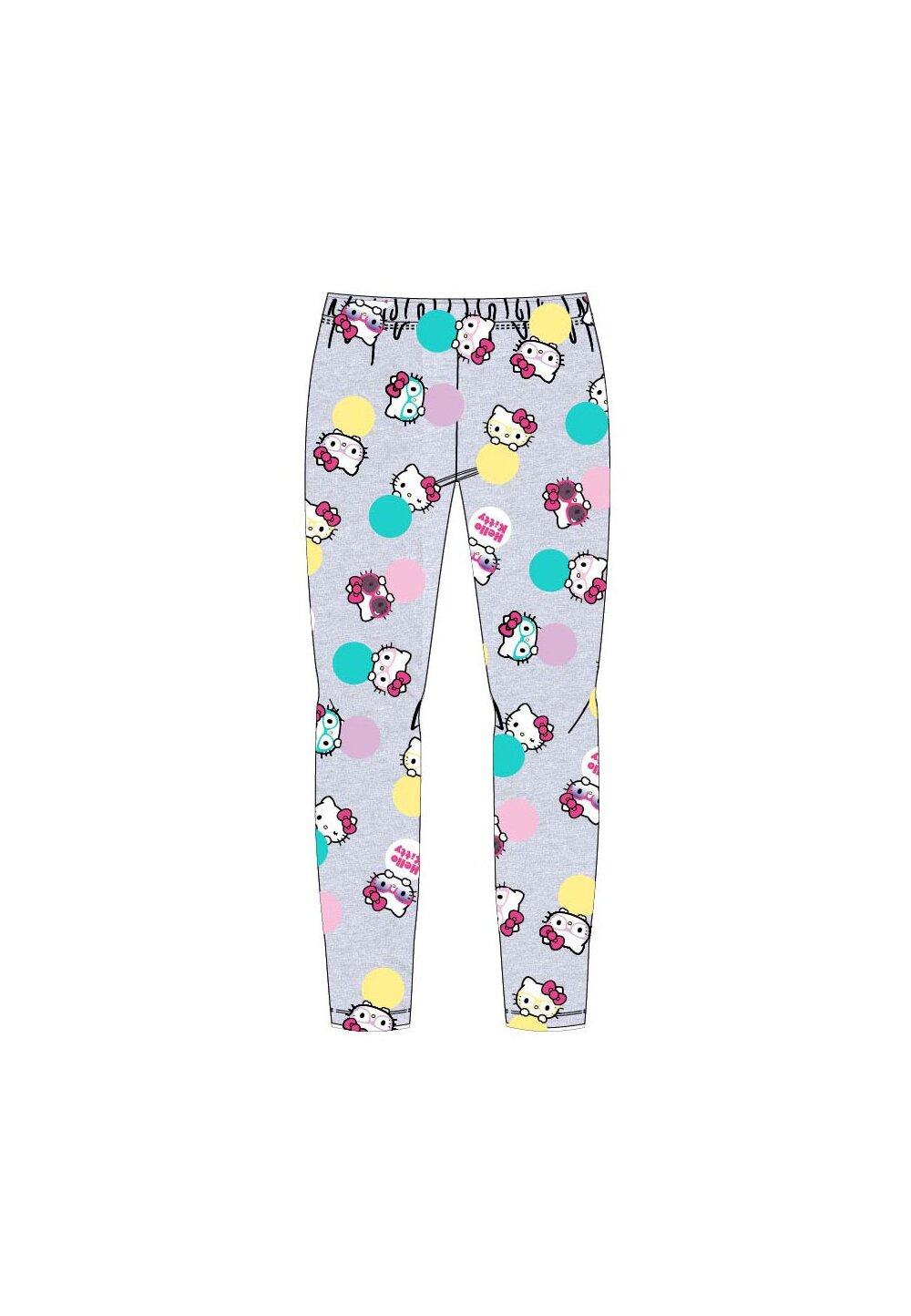 Colanti, Hello Kitty, gri cu buline colorate imagine