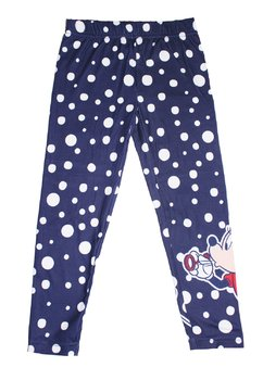 Colanti Minnie Mouse, bluemarin cu buline