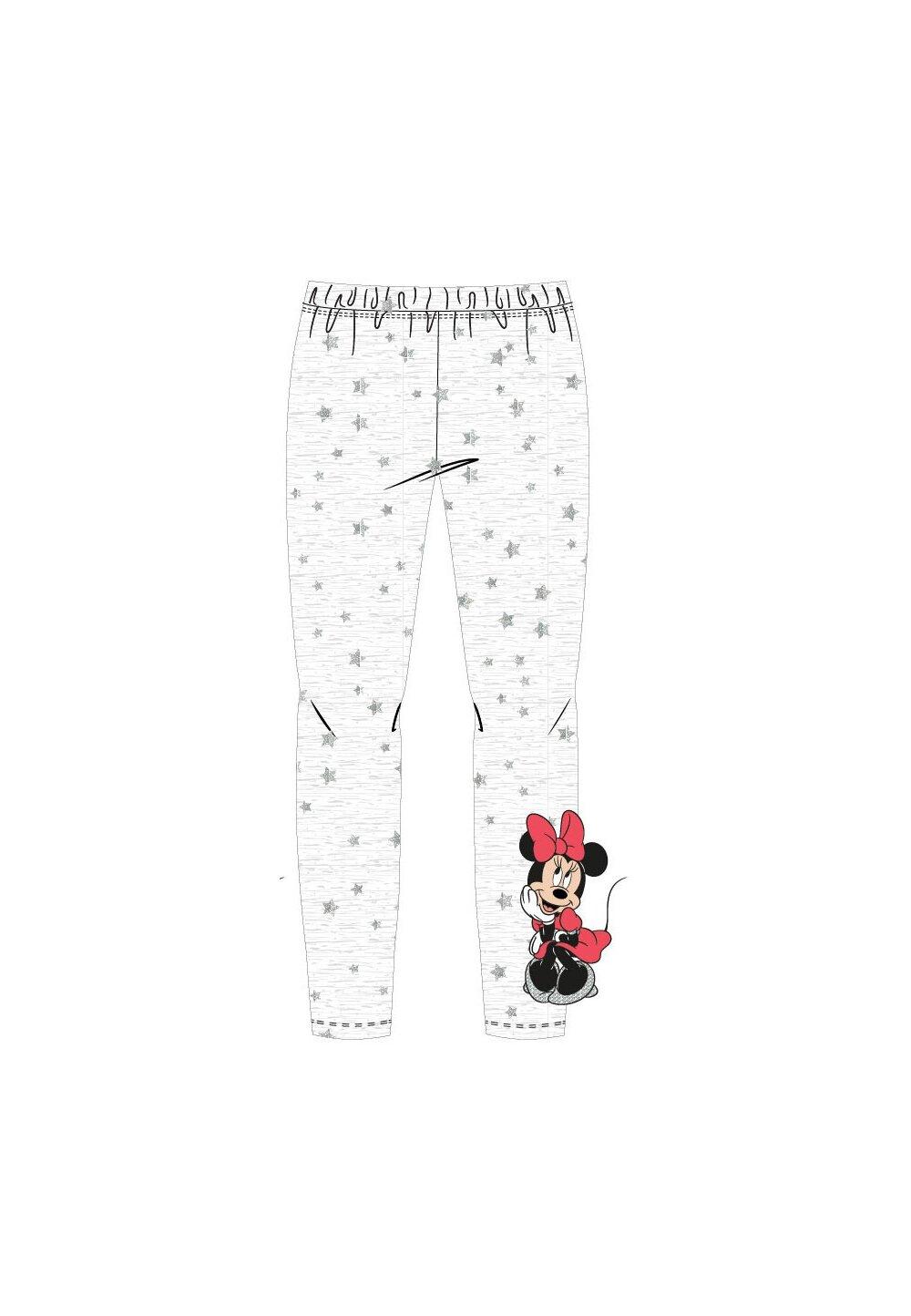 Colanti Minnie Mouse , gri cu stelute argintii imagine