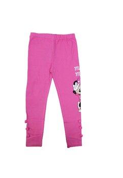 Colanti Minnie Mouse, roz cu Pom Pom